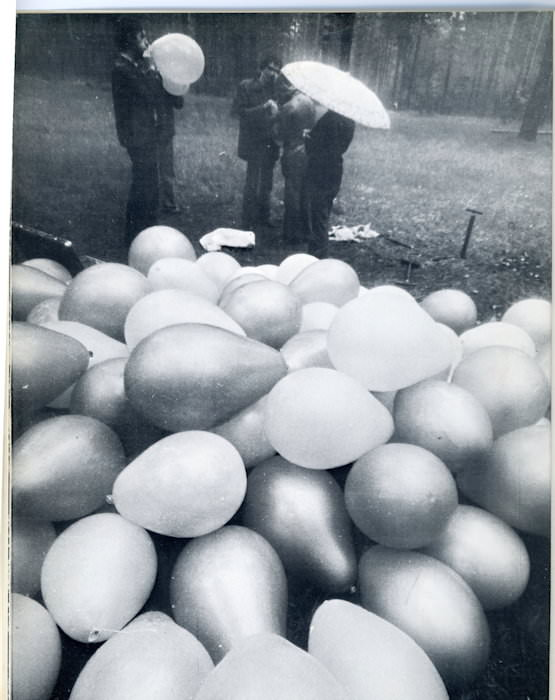 Balloon, Collective Actions Group, 1977